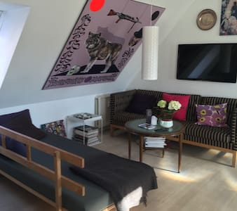 Loft in the heart of Aalborg - Appartement
