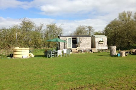 RECTORY RETREAT railway carriage - Bampton - Cabin