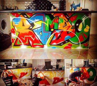 The wildsyle graffiti gaff - Leeds