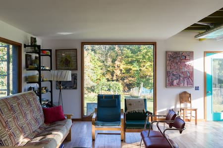 Spacious contemporary home with beautiful views - Middleburgh