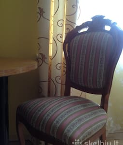 A cozy, furnished 2 room apartment in the Old Town - Daire