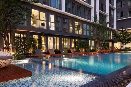 New Apartment BTS Onut Sukhumvit - Bangkok - Condominium