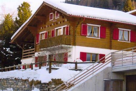 Chalet 8-10 personnes aux pieds des pistes de ski - Chalais - Bungalo