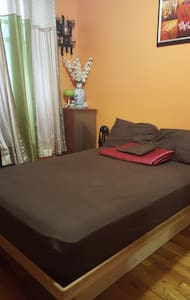 Clean, cozy, comfortable private room. Perfect Loc - Brooklyn - Apartment