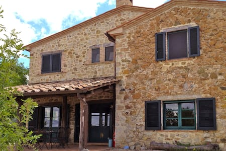 4bed farmhouse in beautiful country - Roccalbegna - Villa