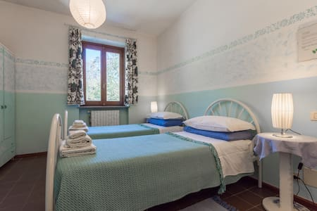 Cascina Ciapilau, double room - Bed & Breakfast