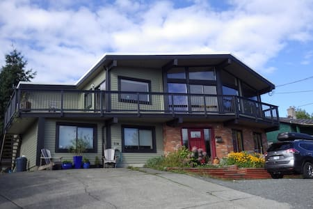 Panoramic Ocean View, top of Campbell River - House