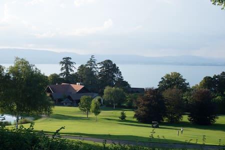 Villa avec vue sur le lac, au pied du golf d'Evian - Évian-les-Bains