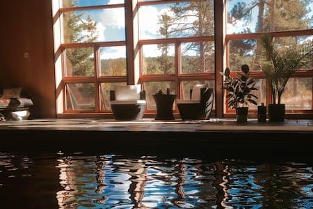 Rise&Shine Solar Mountain PoolHouse - Σπίτι