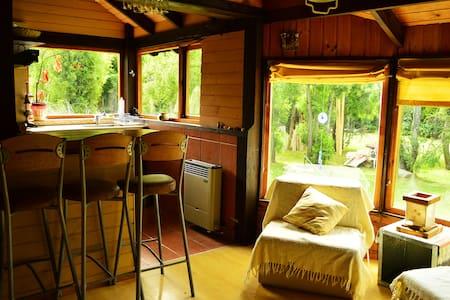 Alquiler en Bariloche! cabaña 2pax con jacuzzi! - San Carlos de Bariloche - Casa
