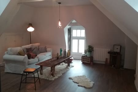 jolie appartement port de Dinan - Dinan - Apartemen