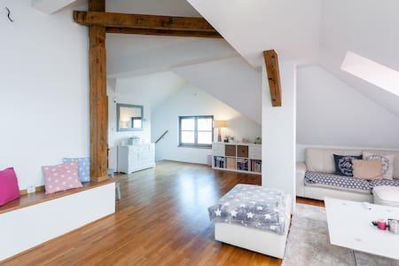 Ubytování v krásné části Prahy blízko centra - Prague - Apartment