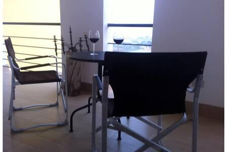 112 sqm loft panoramic view, veranda, no stairs! - Entire Floor