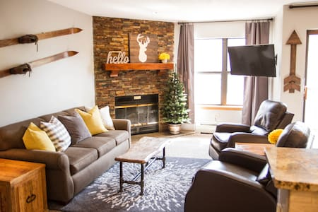 You found it! The best ski-in, downtown condo! - Wohnung