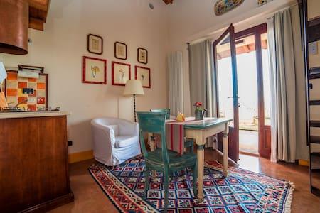 Spacious and panoramic loft apartment at L'Olmo - Lejlighed