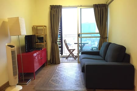 Private bedroom with Balcony (great view) Near BTS - Apartment