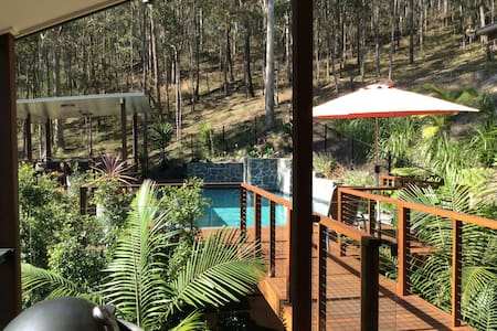 Master BR+ensuite+adjoining office/bed in bushland - Shailer Park - Haus