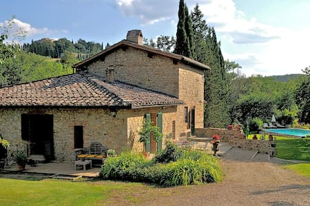LOVELY VILLA IN THE CHIANTI HEART - Gaiole In Chianti - Villa