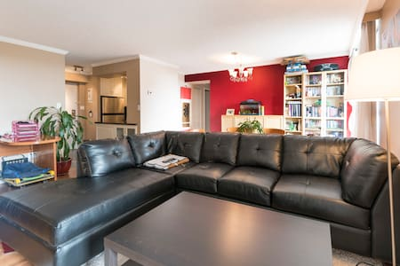 Cozy Private Room by Transit & Mall - Burnaby - Lejlighed