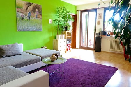 Central green oasis - big+bright 2 rooms+balcony - Apartment