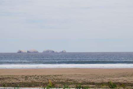 Condo Playa Blanca. Barra de Potosi, Zihuatanejo - Leilighet