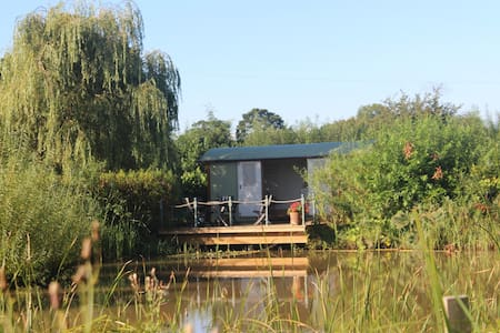 Quaint shepherds hut fabulous location - Mickle Trafford - Barraca