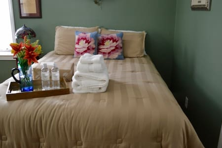 Private bed, bath near downtown - Greenville - Maison