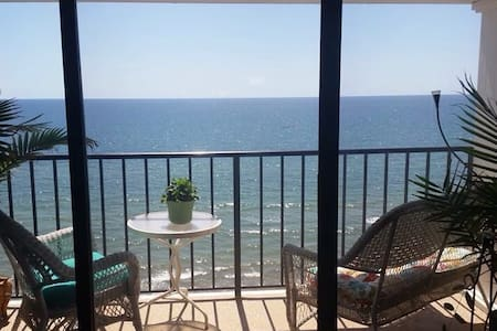 Amazing 9th floor Ocean View - Galveston - Lägenhet