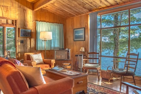 Harfords Point Camp waterfront w/private dock - Northwest Piscataquis - Cabanya