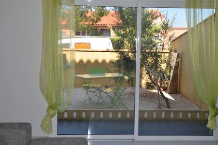 Appartement T2 entre mer et montagne - Villeneuve-de-la-Raho - Appartement