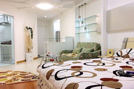 C&Z inn  饱览天际风景的艺文私享家 - Appartement