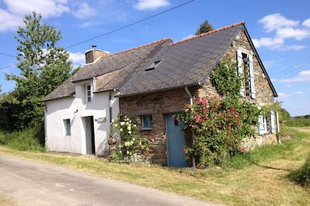 Idyllic cottage with rural views - Sixt-sur-Aff