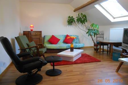 campagne, studio tout confort - Appartement