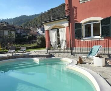 villa con piscina 5 terre - Pignone - Villa