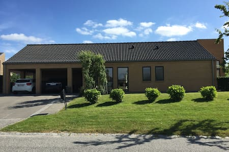 Large beautiful house near Aarhus and Djursland - ideal for families. - Hornslet - Huis