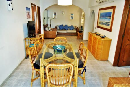 5mnts from the beach W/AirConditioning + Parking - Apartment