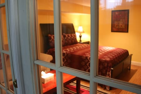 Lovely studio in a safe, convenient location - Annandale - Casa