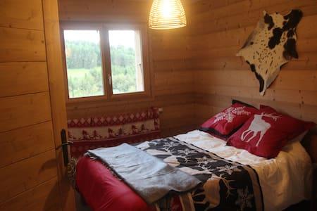 Chalet Eterlou 60 m2 de charme en montagne - Mégevette - Apartment