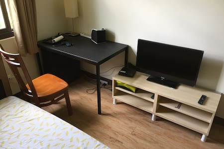Fresh, warm, clean double bedroom - Nantou City