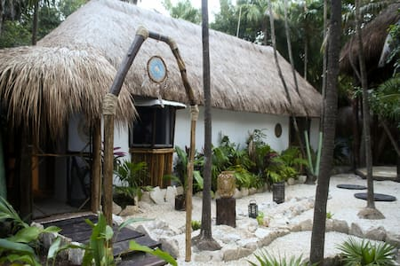 "Bungalow ""Mariposa"" Room & Cenote, Beach Zone - Bungalow"