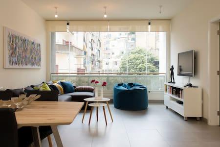 Stunning Modern Apartment in MarMikhael + Parking - Beirut - Apartment