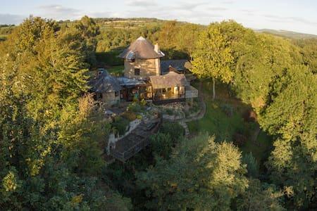 Windmill, cosy hideaway, log fire, - Bed & Breakfast