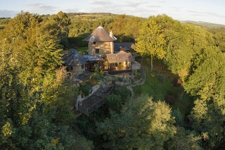 Windmill, cosy hideaway, log fire, - Northumberland - Bed & Breakfast