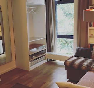 Beautiful Room in 130qm Flat in St.Georg (HBF) - Apartmen
