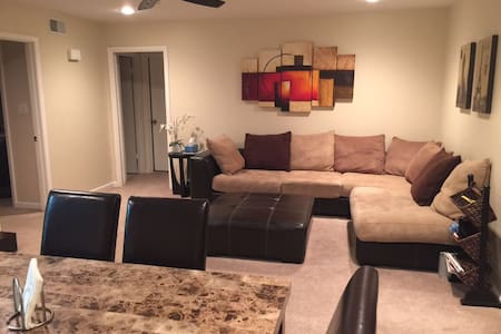 Cozy and spacious apt near airport - San Antonio