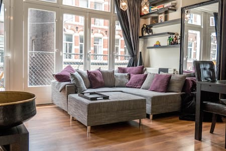 Stylish apartment for 2 in the heart of Amsterdam - Daire