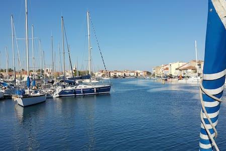 Voilier à flot Port de Ferrière Martigues - Martigues