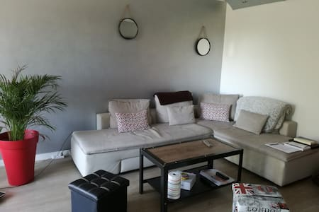 Appartement confortable L'Hermitage - Daire