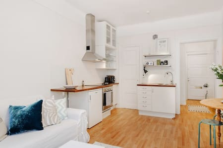 Central studio apartment close to metro and park - Stockholm - Appartement