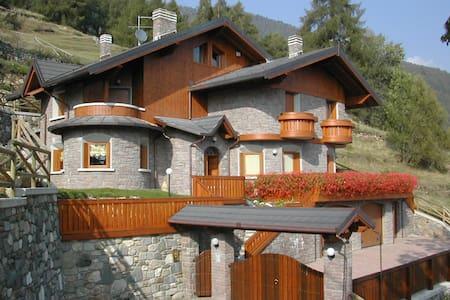 Rent Luxury Villa - Canè (BS)- Valcamonica Stelvio - Vione